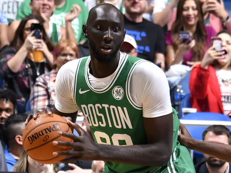 Celtics convert Tacko Fall's contract to 2-way deal