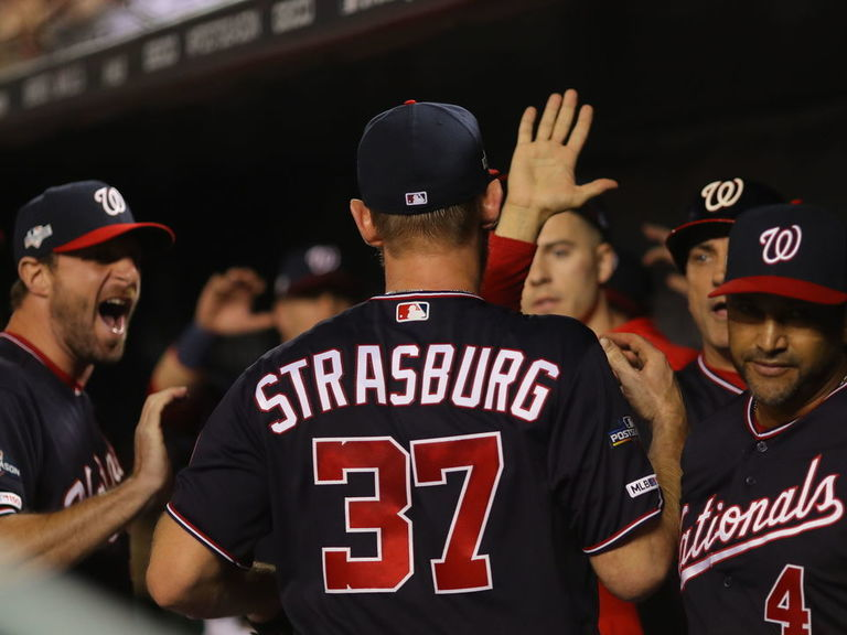 Strasburg evokes Bob Gibson during Game 3 vs. Cardinals