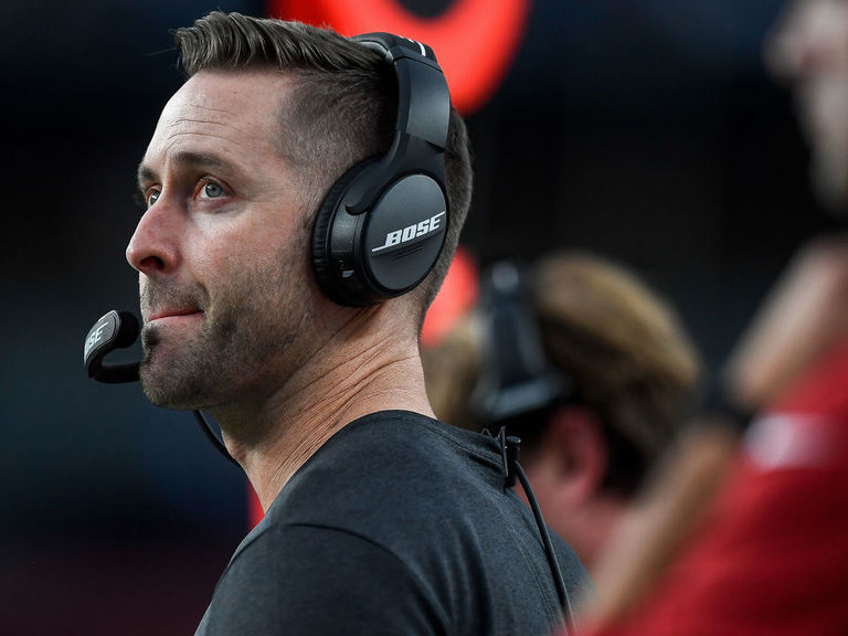 Kingsbury worried about job security during 1st game with Cardinals