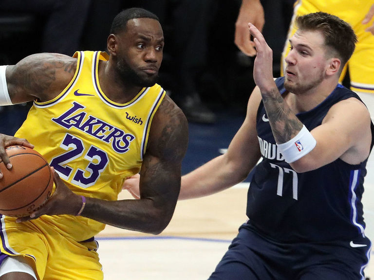 LeBron, Doncic make NBA history with triple-double efforts