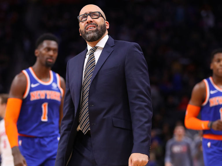Report: Knicks president laying groundwork to fire coach Fizdale