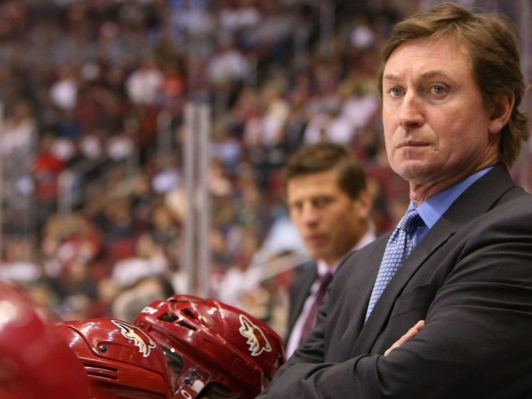 Gretzky turns down offer to coach Canada at Spengler Cup