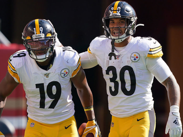 Steelers lose Smith-Schuster, Conner to TNF injuries