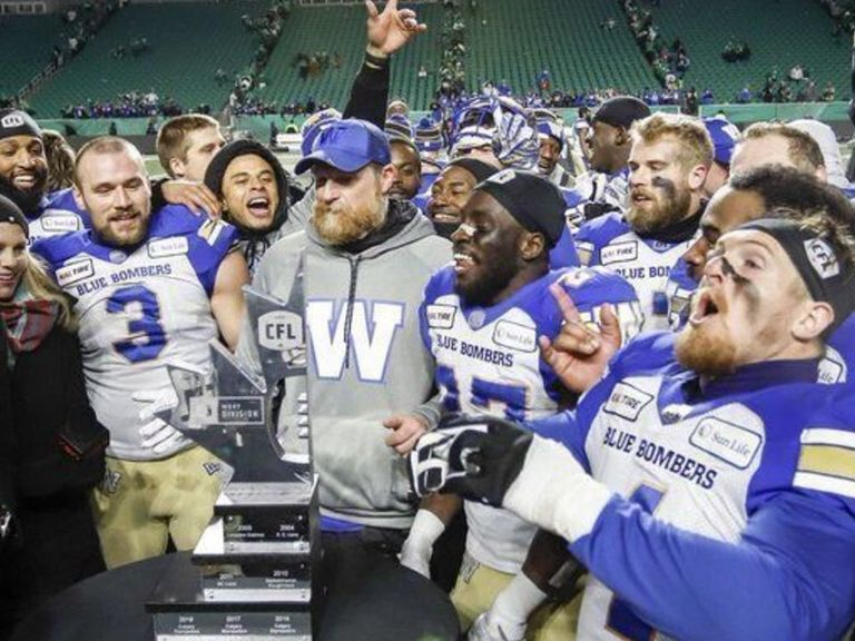 Blue Bombers stun Roughriders, advance to 1st Grey Cup since 2011