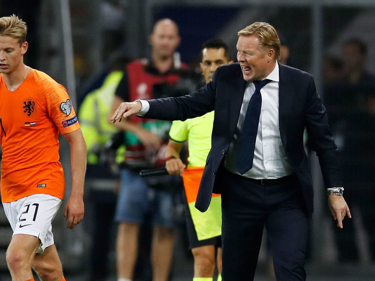 Koeman meets the criteria to coach Barcelona, says sporting director