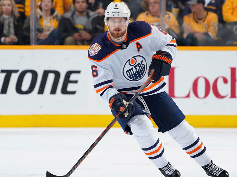 Oilers' Larsson will return vs. Kings after being activated off IR