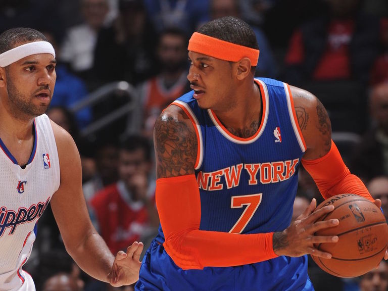Melo laments Dudley controversy: 'He wasn't keeping a roster spot from