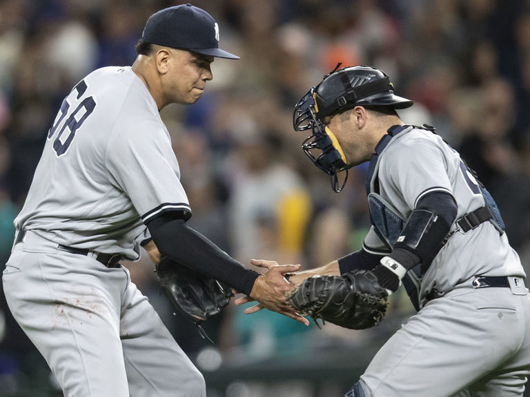 Report: Phillies eyeing Betances, Romine