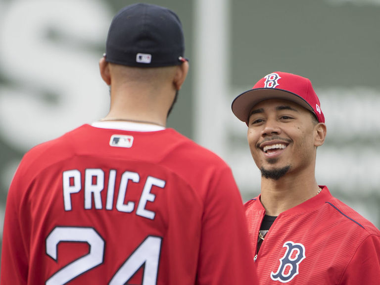 Report: Red Sox attaching Price in Betts talks, want 2 top prospects