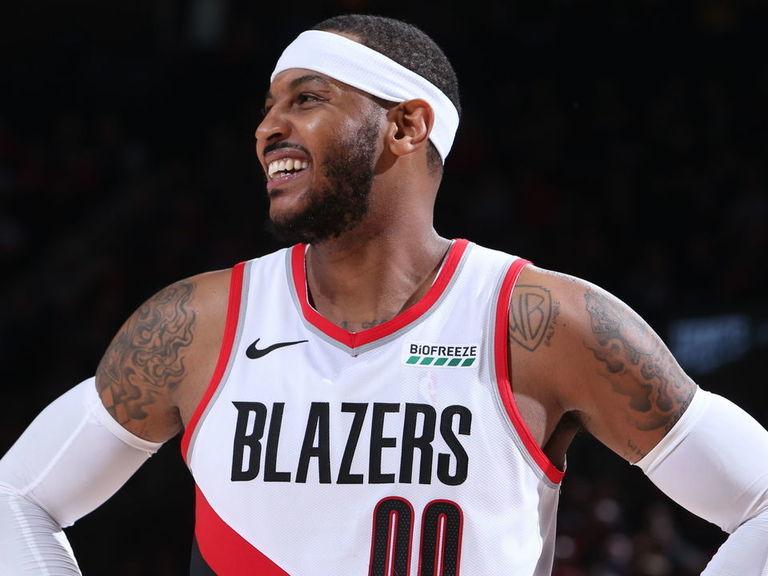 Melo hopes Knicks hang up his No. 7