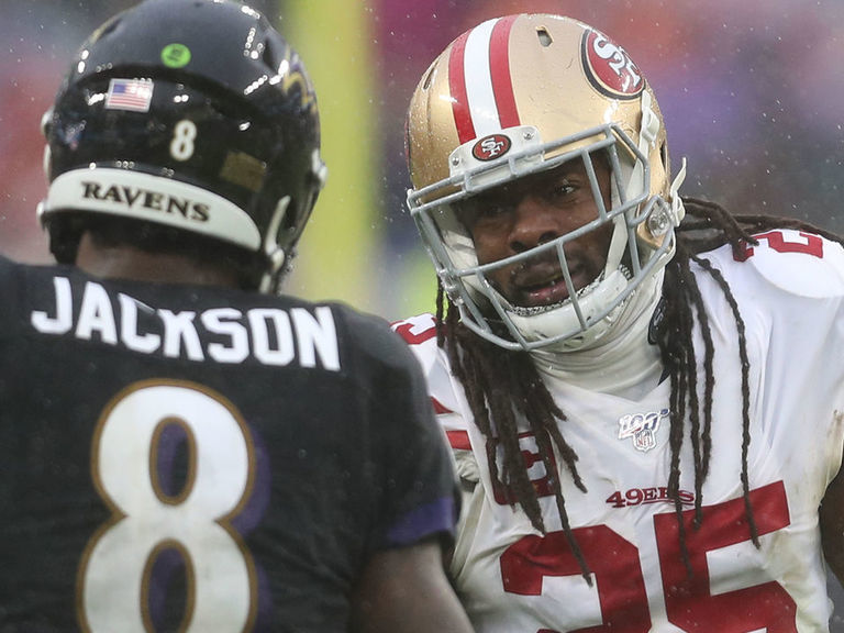 Sherman defends 49ers radio analyst over Lamar comments
