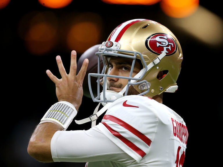 NFL championship weekend player props: Fade Jimmy G vs. Packers