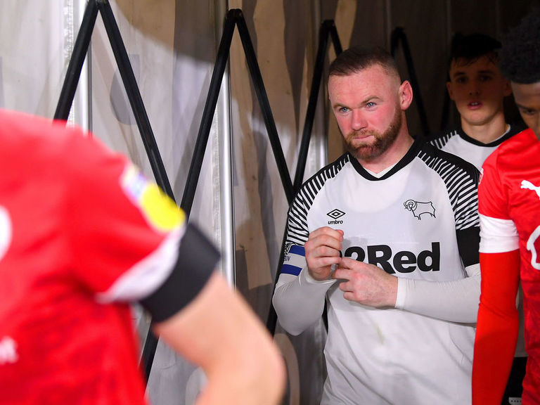 How has Wayne Rooney fared in his opening 10 Derby matches?