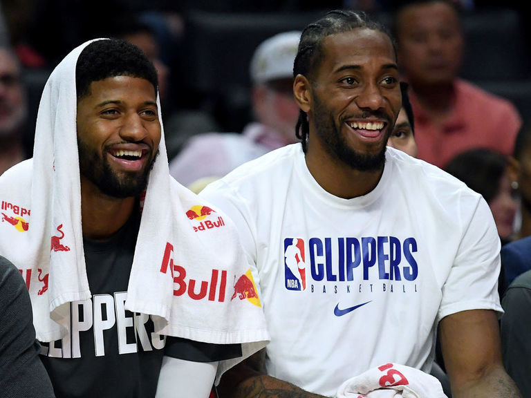 Kawhi, PG discussed joining forces at Drake's California home