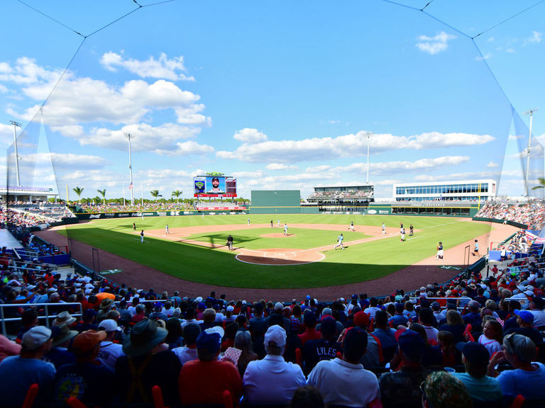 MLB announces spring training reporting dates for all teams