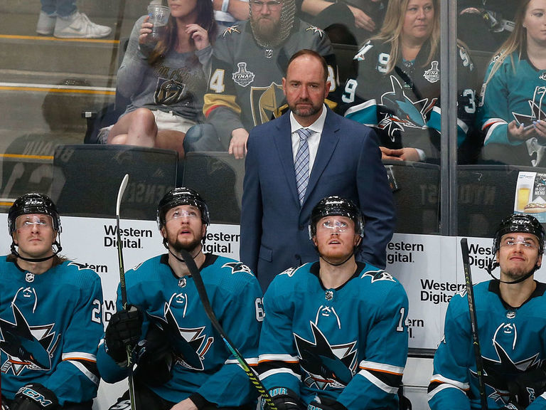 Sharks' Meier: It'll be 'weird' facing DeBoer