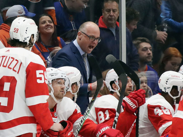 Blashill on coach firings: 'It's a bit crazy in the league right now'