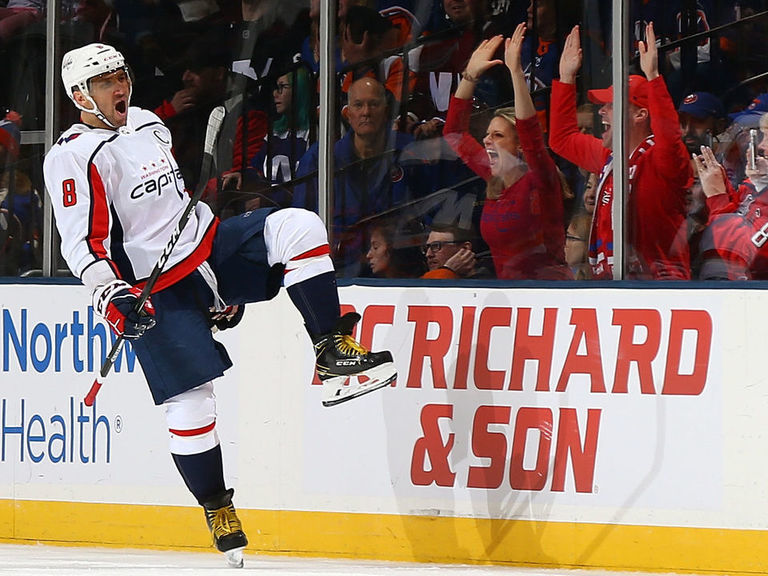 Ovechkin passes Lemieux, ties Yzerman for 9th on all-time goals list