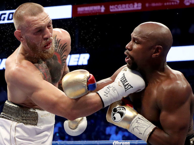 Mayweather teases McGregor rematch after UFC 246