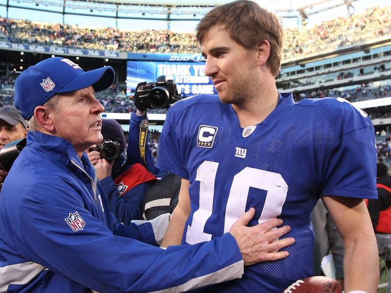 Coughlin bids farewell to Manning: 'It was an honor and privilege to c
