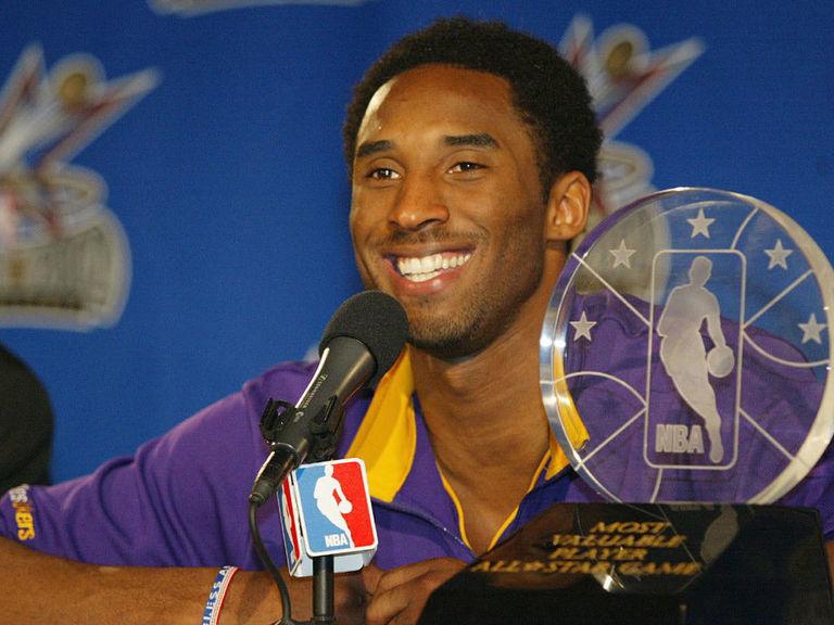 NBA names All-Star MVP trophy in Kobe's honor