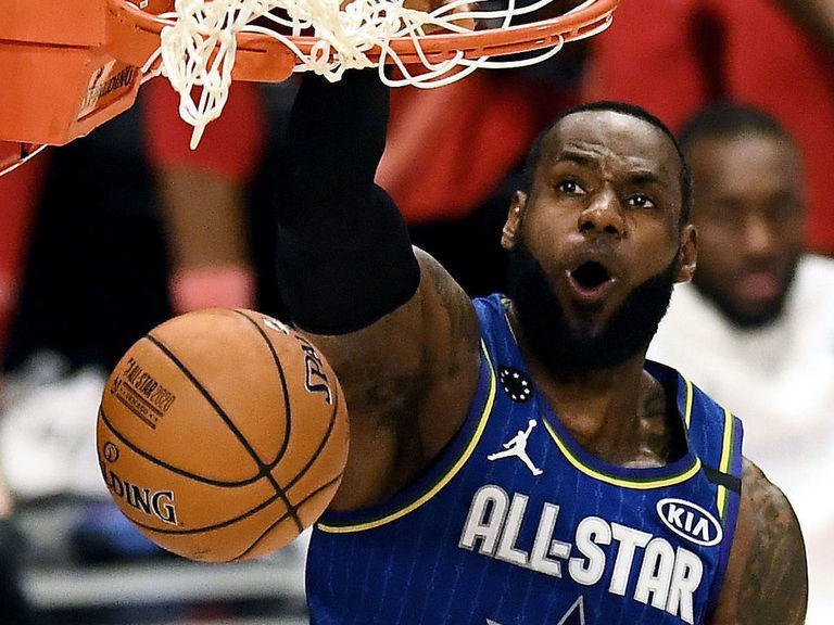 Team LeBron takes All-Star Game with 157-155 win over Team Giannis