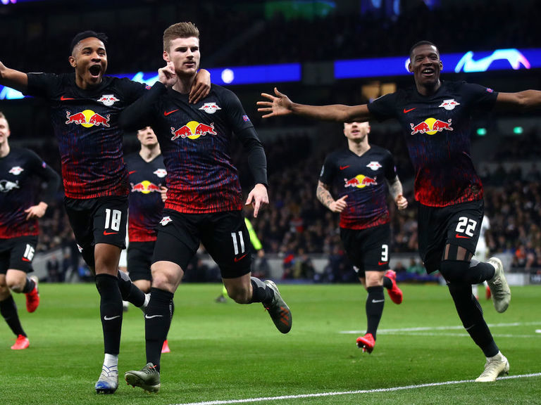 Spurs face uphill battle after Werner fires Leipzig into aggregate lead