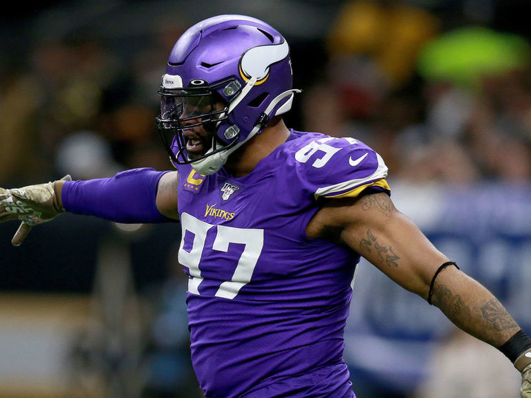 Report: Griffen opts out of Vikings contract with 3 years left