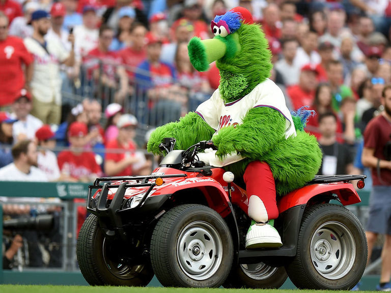 Report: Phillies making changes to Phanatic mascot