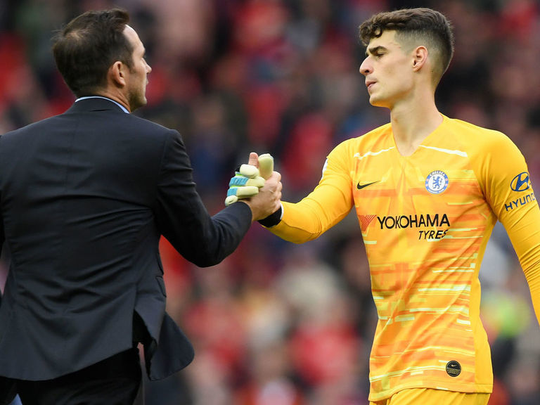 Lampard denies tension with Chelsea's board after dropping £72M Kepa