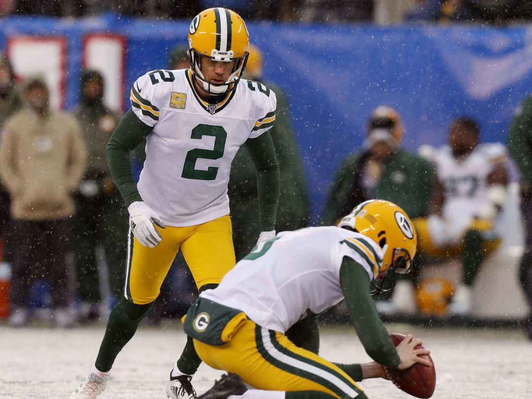 Packers re-sign Mason Crosby to 3-year contract