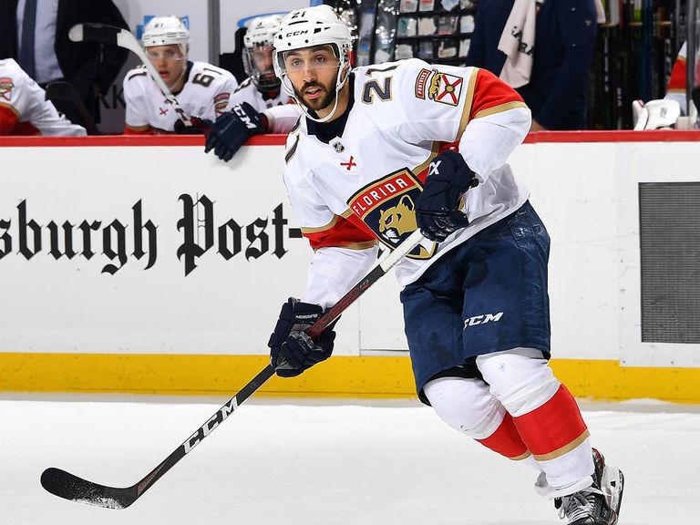 Panthers send Trocheck to Hurricanes