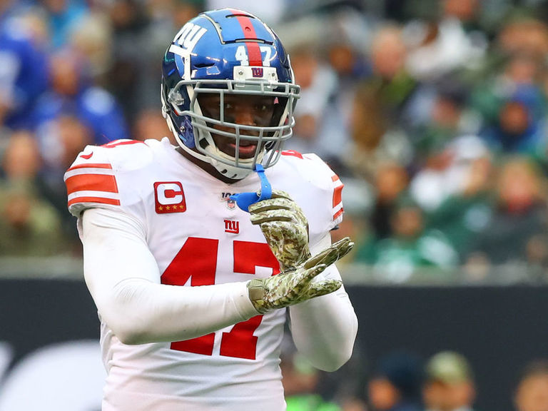 Giants cut Ogletree and Martin, open $13M in cap space