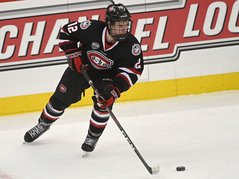 Bruins sign St. Cloud State's Jack Ahcan