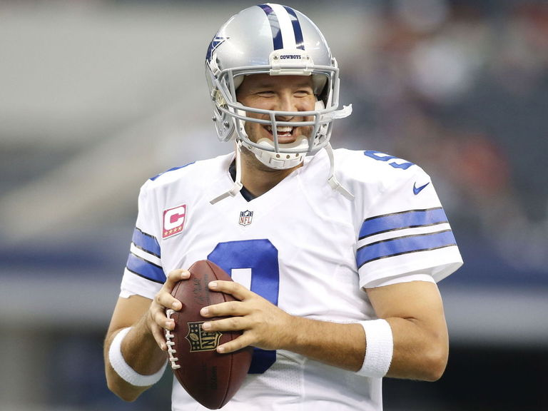 VIDEO: Tony Romo's interview with David Feherty features a football to the groin