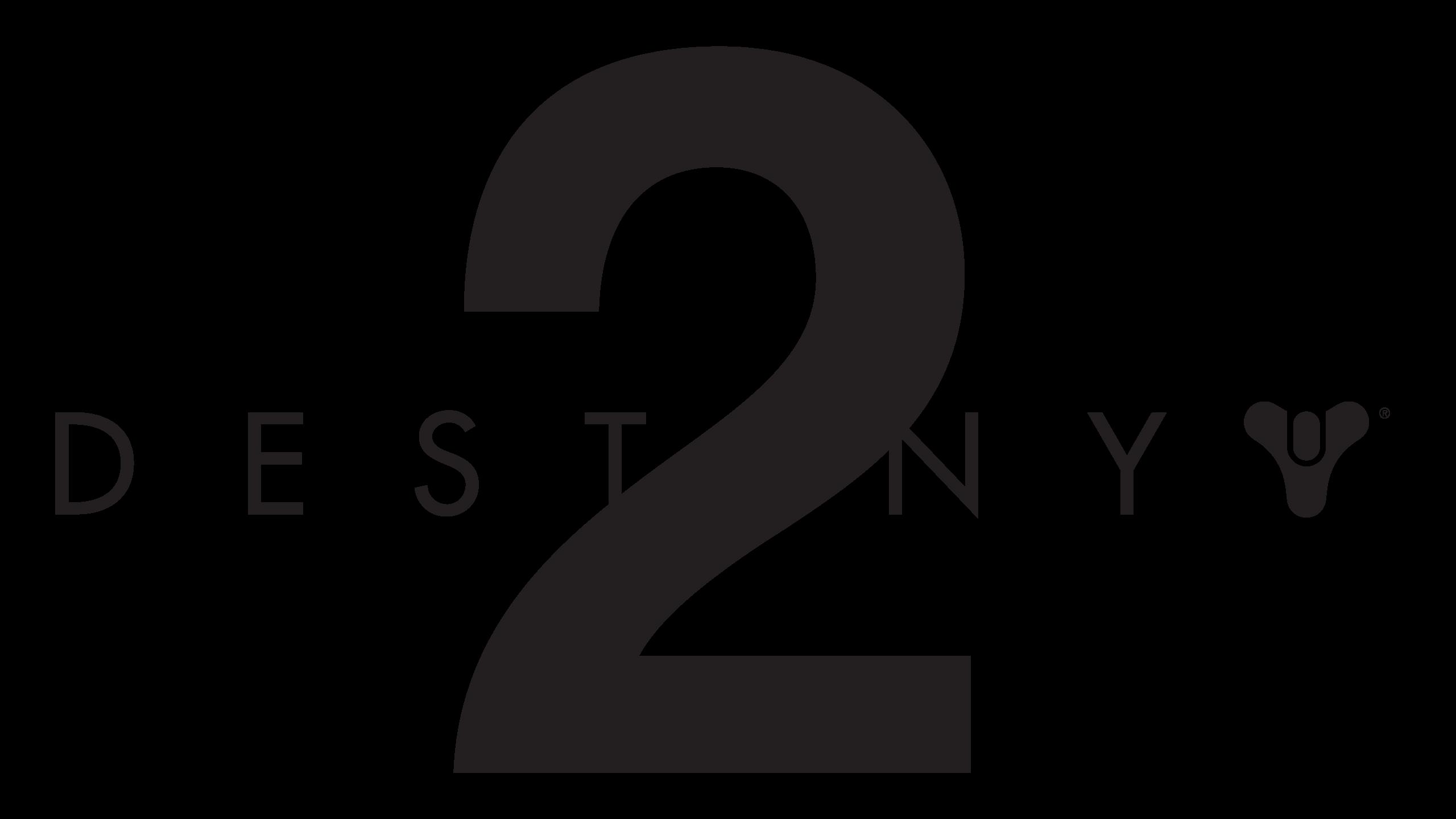 D2 logo black